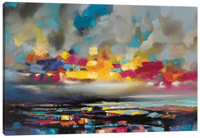 Particles II by Scott Naismith Canvas Art Print