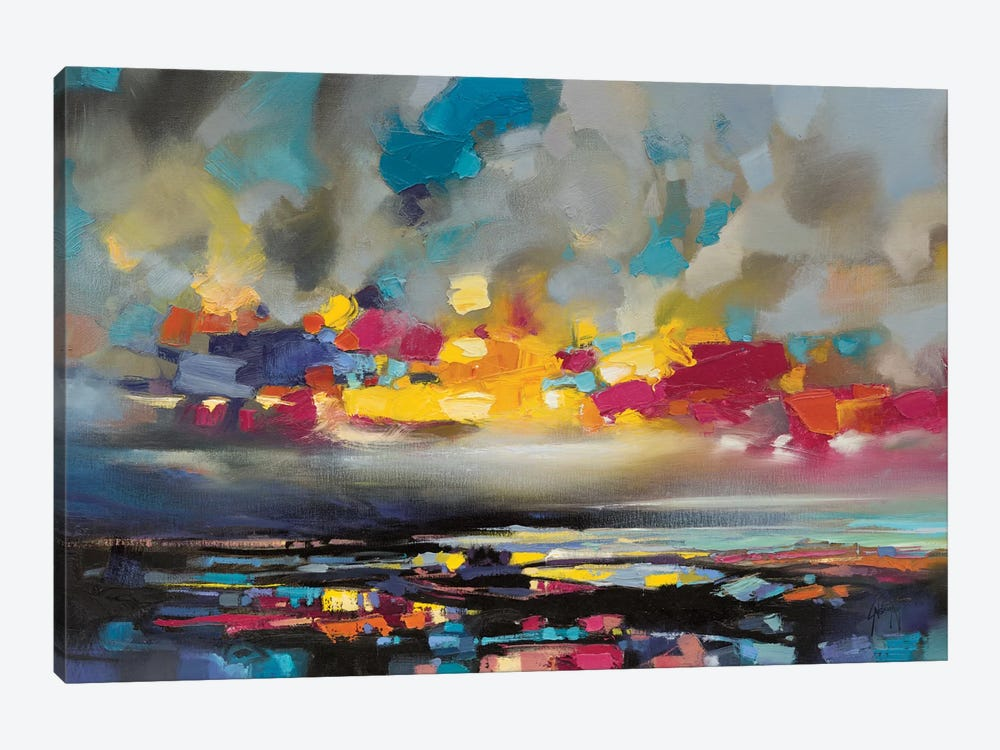Particles II by Scott Naismith 1-piece Canvas Wall Art