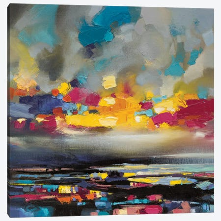 Particles III Canvas Print #SNH81} by Scott Naismith Canvas Artwork