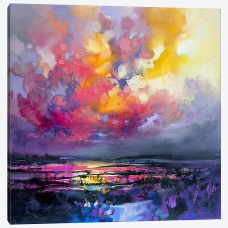 Binding Energy I Canvas Print #SNH83} by Scott Naismith Canvas Wall Art