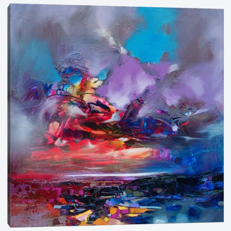 Colour Collision I Canvas Print #SNH84} by Scott Naismith Art Print