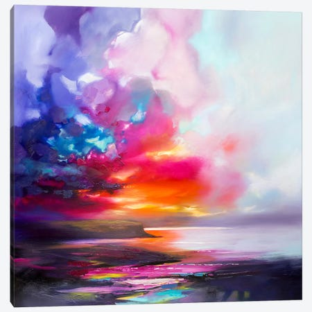 Diffusion II Canvas Print #SNH85} by Scott Naismith Art Print