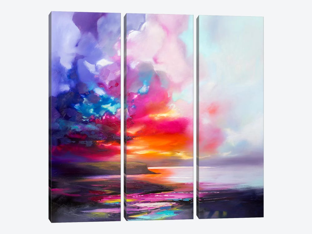 Diffusion II by Scott Naismith 3-piece Canvas Print