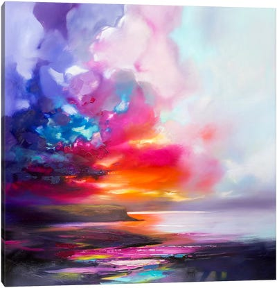 Diffusion II Canvas Art Print