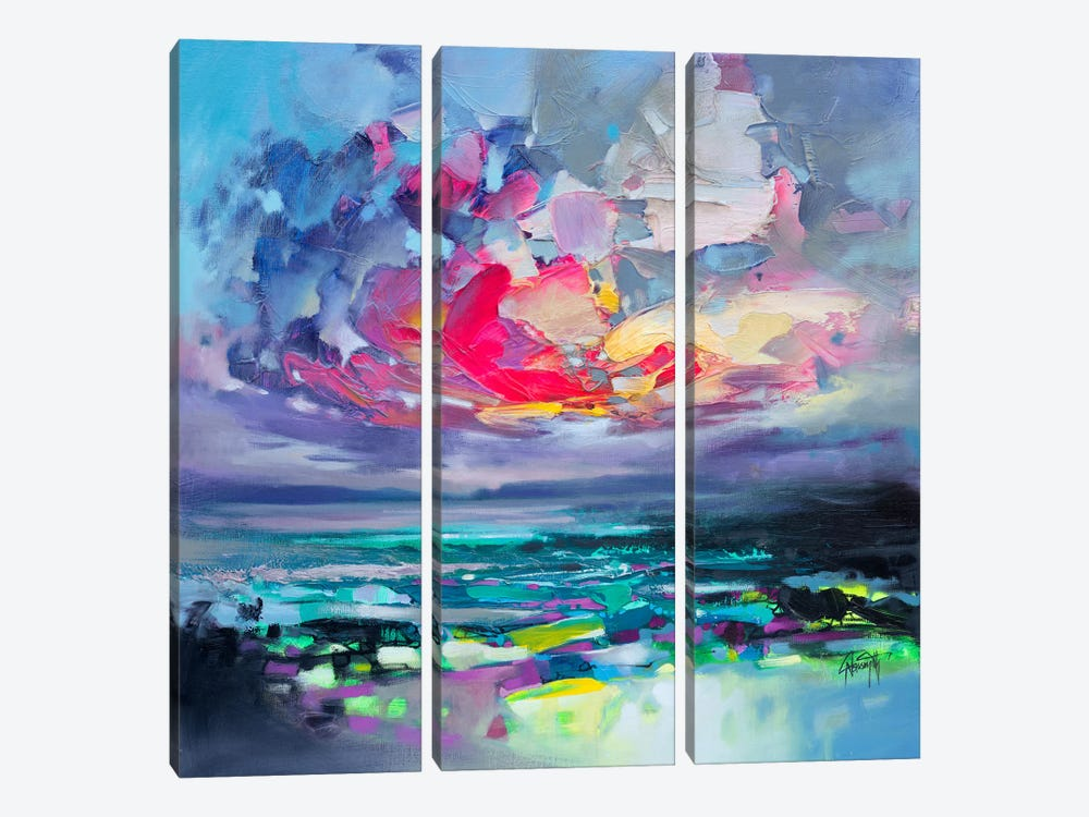 Elements I 3-piece Canvas Art