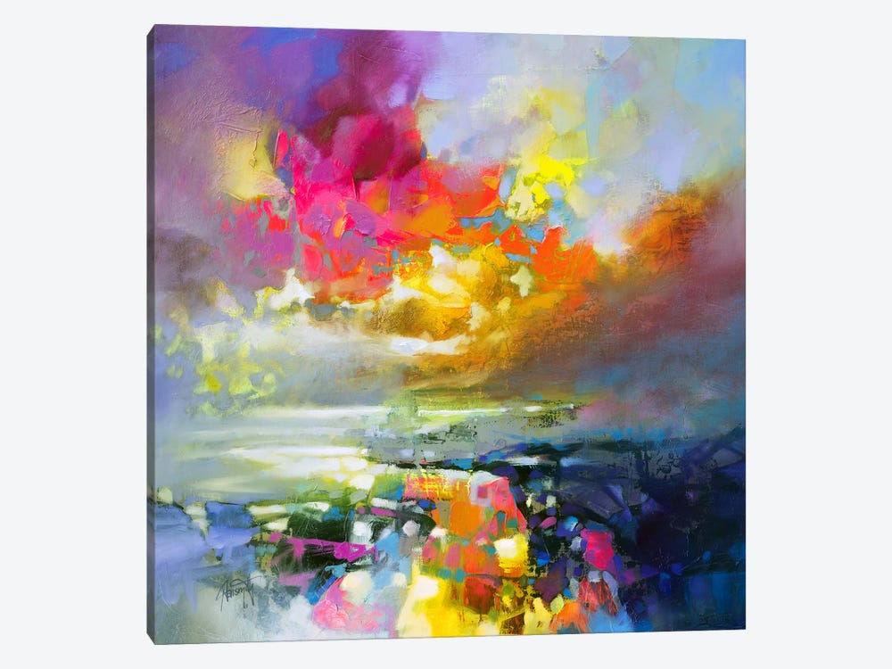 Elements II 1-piece Canvas Print