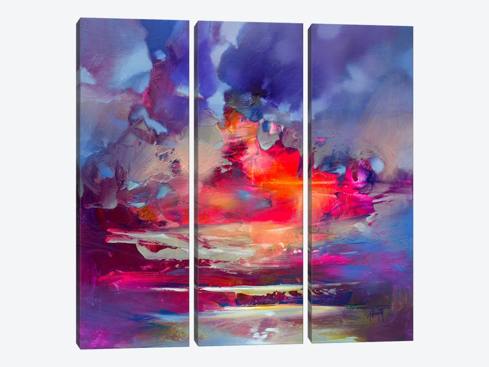 Energy Transfer by Scott Naismith 3-piece Canvas Artwork