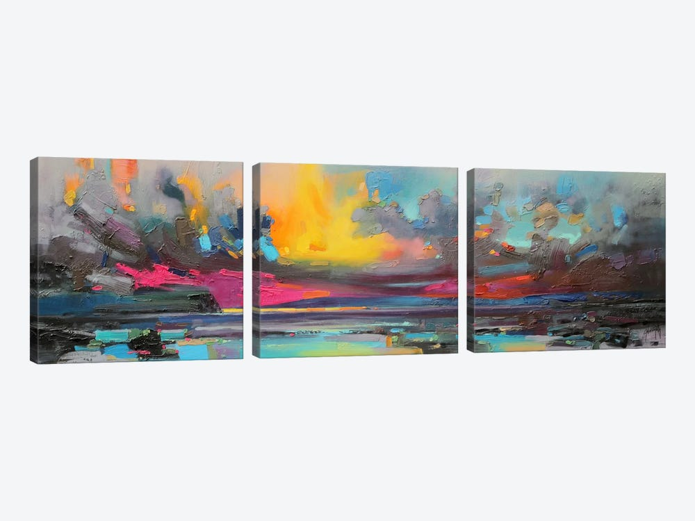 Skye by Scott Naismith 3-piece Canvas Wall Art