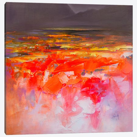 Fluid Dynamics III Canvas Print #SNH91} by Scott Naismith Art Print
