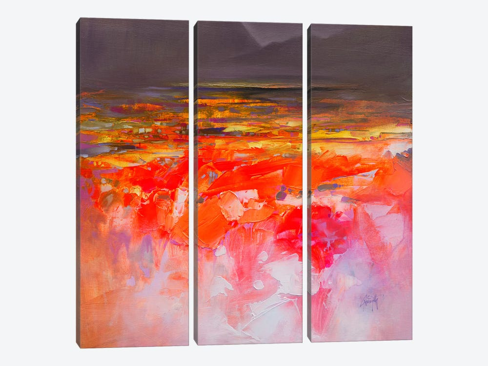 Fluid Dynamics III by Scott Naismith 3-piece Canvas Wall Art