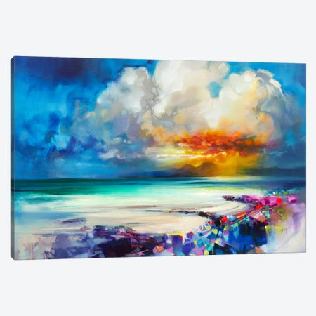 Golden Canvas Print #SNH92} by Scott Naismith Art Print