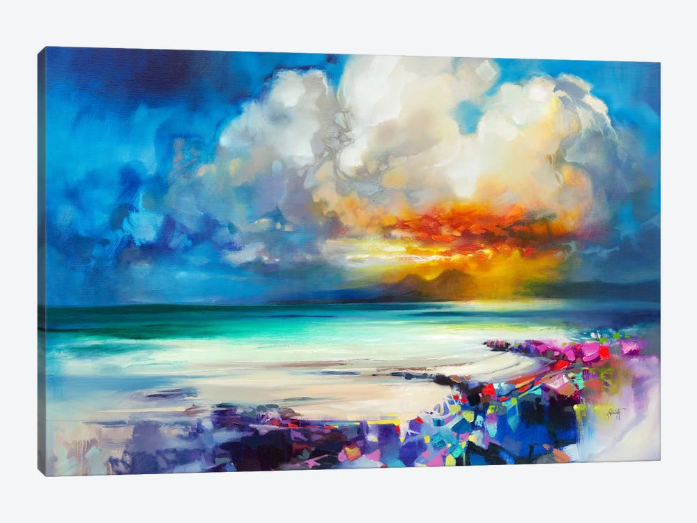 Golden by Scott Naismith 1-piece Canvas Art Print