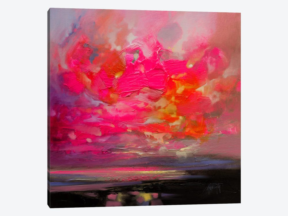 Magenta Plasma by Scott Naismith 1-piece Canvas Wall Art