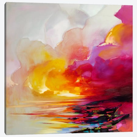 Magenta Shade Canvas Print #SNH94} by Scott Naismith Canvas Art