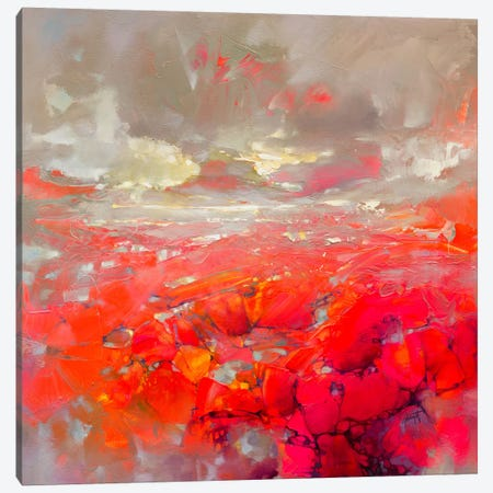 Molecular Bonds Canvas Print #SNH95} by Scott Naismith Canvas Artwork