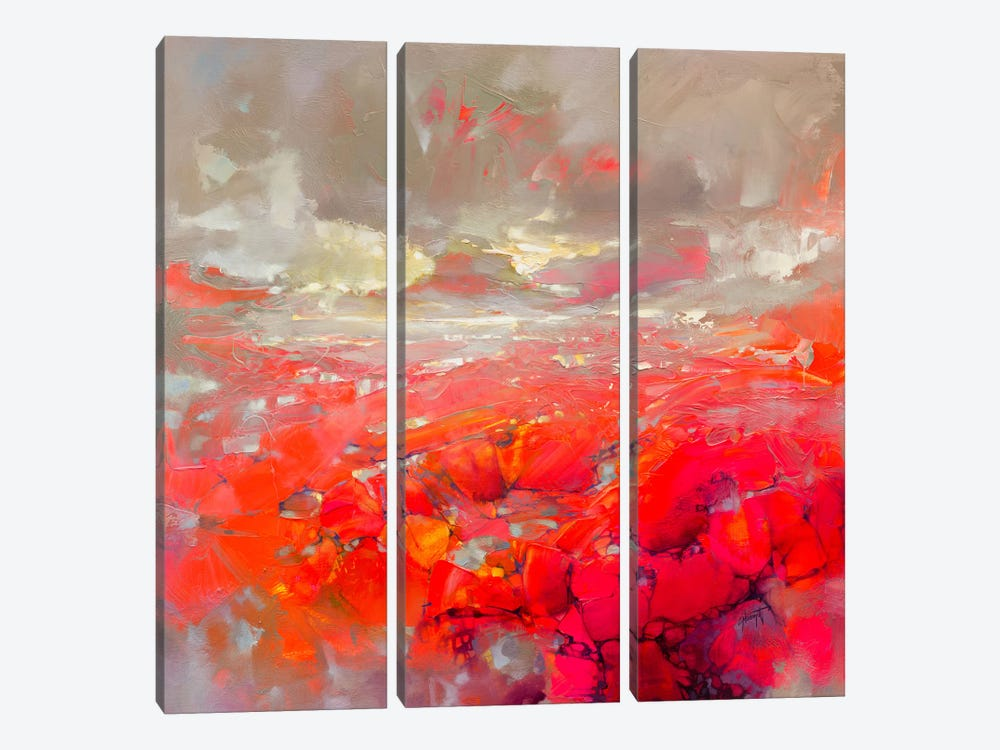 Molecular Bonds by Scott Naismith 3-piece Canvas Artwork