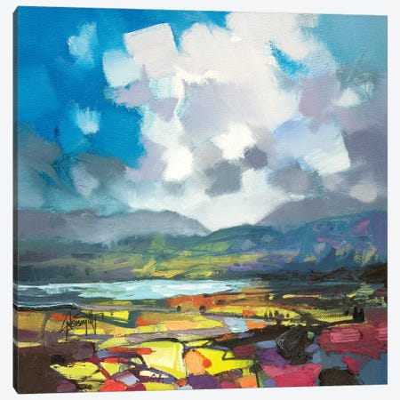 April Colour Study Canvas Print #SNH96} by Scott Naismith Canvas Art