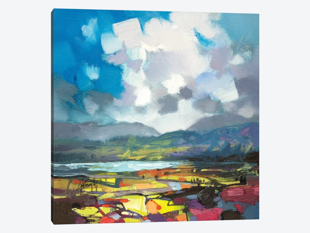 April Colour Study by Scott Naismith 1-piece Canvas Print