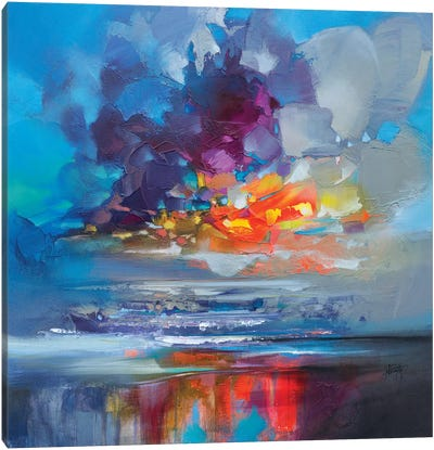 Arisaig Orange by Scott Naismith Canvas Art Print