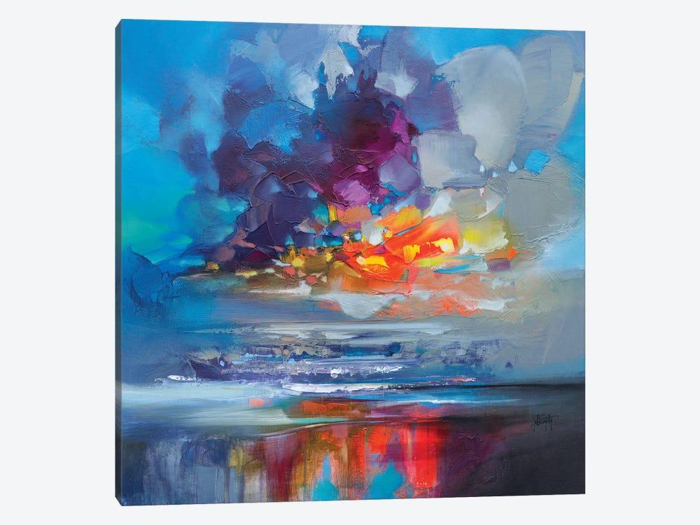 Arisaig Orange by Scott Naismith 1-piece Canvas Artwork