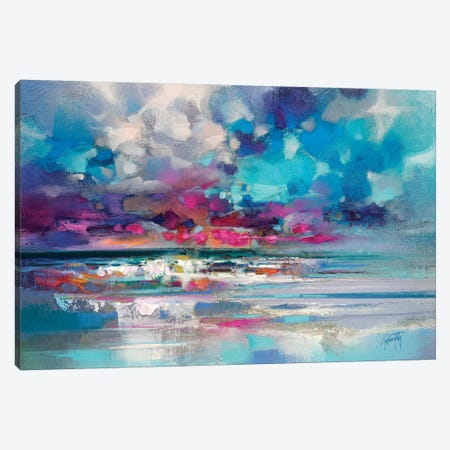Atlantic Magenta Canvas Print #SNH98} by Scott Naismith Canvas Art Print