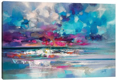 Atlantic Magenta Canvas Art Print