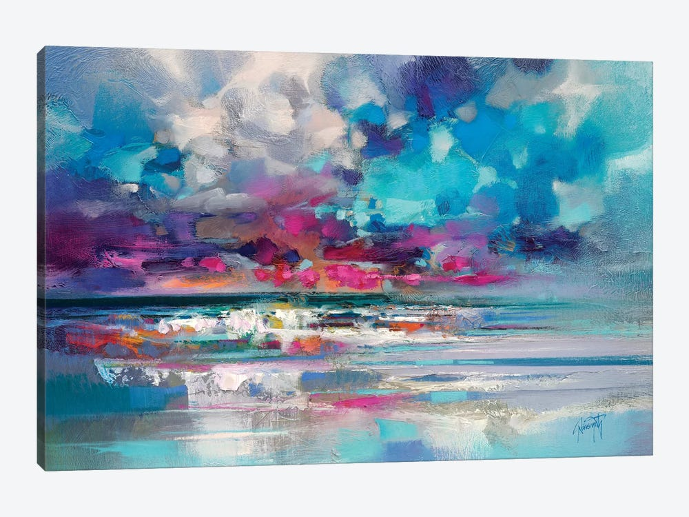 Atlantic Magenta by Scott Naismith 1-piece Canvas Art Print