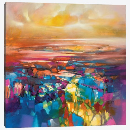 Chromodynamics I Canvas Print #SNH99} by Scott Naismith Canvas Print