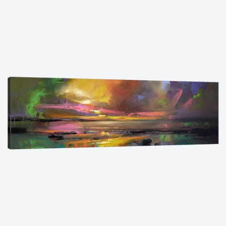 Electric Sky Canvas Print #SNH9} by Scott Naismith Canvas Wall Art