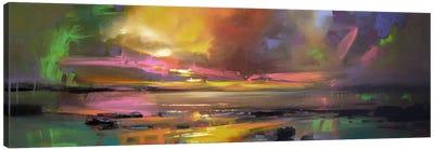 Electric Sky Canvas Print #SNH9