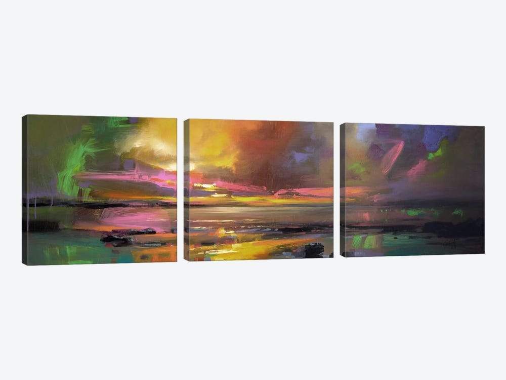 Electric Sky by Scott Naismith 3-piece Canvas Art Print