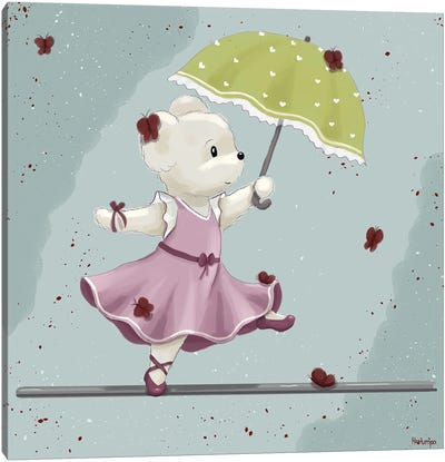 Wire Dancer Mouse Canvas Art Print