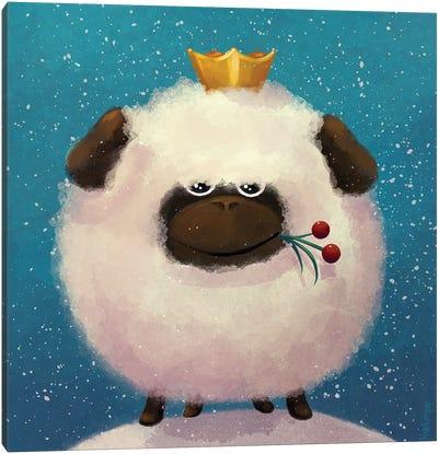 Sheepking Canvas Art Print