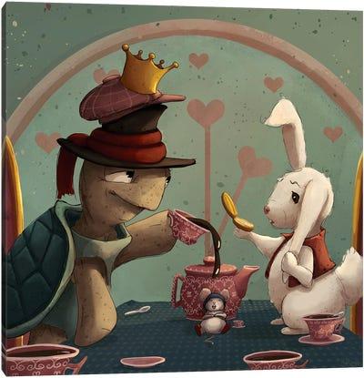 Teaparty Canvas Art Print