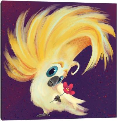 Cockatoo Canvas Art Print