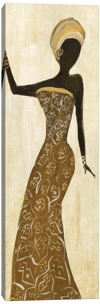 African Dance I Canvas Art Print