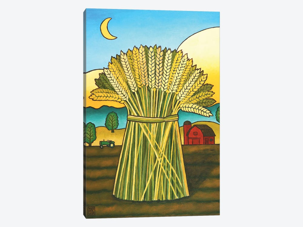 Ward's Wheat by Stacey Neumiller 1-piece Canvas Art