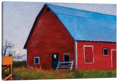 Bishop Barn Canvas Art Print
