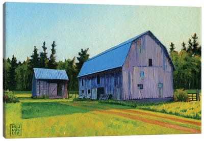 Lee Farm Canvas Art Print
