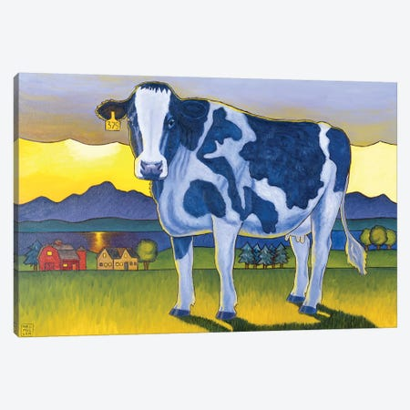 Bovine Whidbey Canvas Print #SNM12} by Stacey Neumiller Canvas Artwork