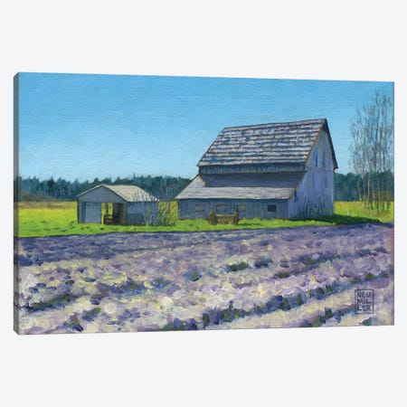 Boyer Barn Canvas Print #SNM13} by Stacey Neumiller Canvas Art