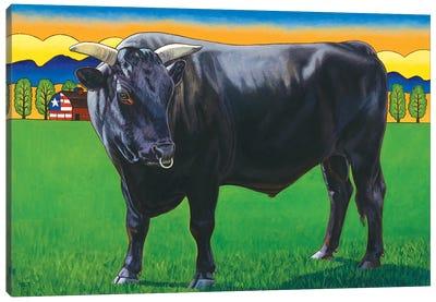 Bull Market Canvas Art Print
