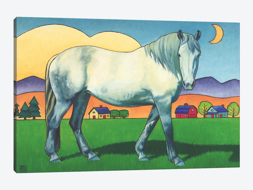 Charmeon by Stacey Neumiller 1-piece Canvas Art Print