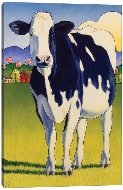 A Good Lookin Cow Canvas Art Print