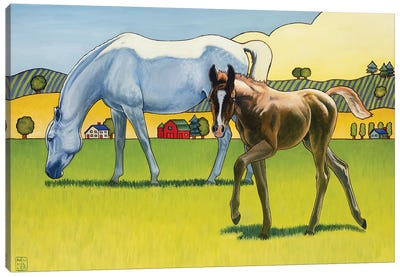 Curious George Canvas Art Print