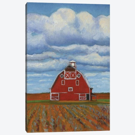 Eastern Washington Barn III Canvas Print #SNM29} by Stacey Neumiller Canvas Art Print