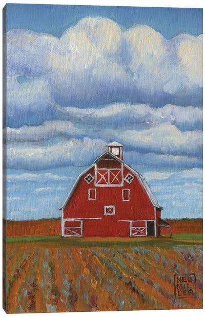 Eastern Washington Barn III Canvas Art Print
