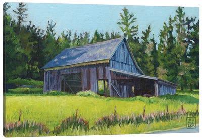 Elder Gentleman Canvas Art Print