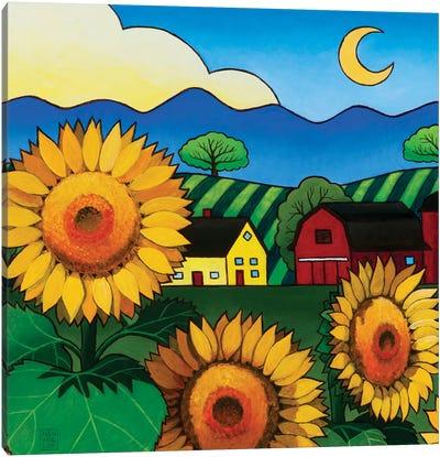 Fleur Du Soleil Canvas Art Print