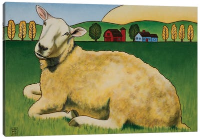 Hazel Canvas Art Print